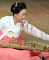 Korea traditsioonilise muusika ja tantsu meistrikursus
