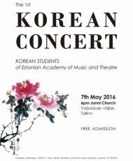 Korea tudengite kevadkontsert