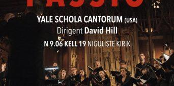 """Kammerkoori Yale Schola Cantorum esituses kõlab Tallinnas Arvo Pärdi """"Passio"""""""