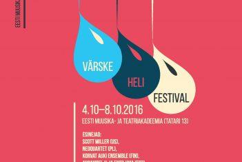Värske heli festival Sügisfest laiendab piire