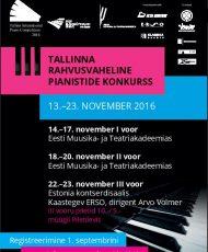 III Tallinna rahvusvaheline pianistide konkurss