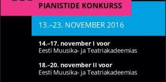 Algab III Tallinna rahvusvaheline pianistide konkurss