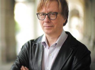 Austria helilooja Georg Friedrich Haas osaleb EMTAs toimuval konverentsil