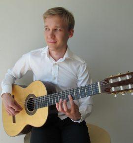 Kitarriõhtu: Agni-Sandia Hallik ja Ville Mustonen