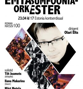 EMTA Sümfooniaorkester, dirigent Olari Elts
