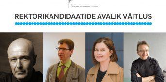 OTSEÜLEKANNE: EMTA rektorikandidaatide avalik väitlus