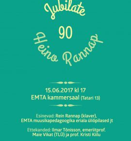 Jubilate: Heino Rannap 90