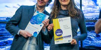 EMTA tudengid Sasha Mäkilä  ja Zarina Khazrat võitsid