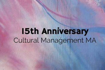 Eesti Muusika- ja Teatriakadeemia kultuurikorralduse magistriprogramm tähistab oma 15. aastapäeva