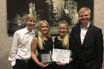 Konkursi võitnud EMTA üliõpilaste keelpillikvartett saab anda kontserte Itaalias ja mujal Euroopas