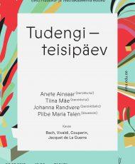 Tudengiteisipäev. Anete Ainsaar, Tiina Mäe, Johanna Randvere ja Piibe Maria Talen