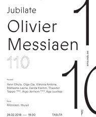 Jubilate. Olivier Messiaen 110