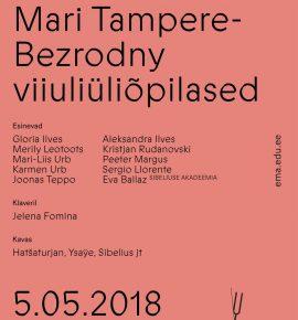 Klassikontsert. Mari Tampere-Bezrodny viiuliüliõpilased