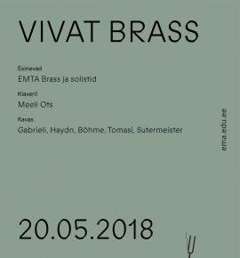 Vivat Brass. EMTA Brass ja solistid