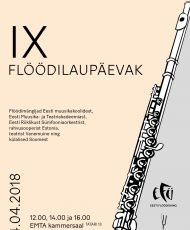 IX Eesti Flöödiühingu flöödilaupäevak