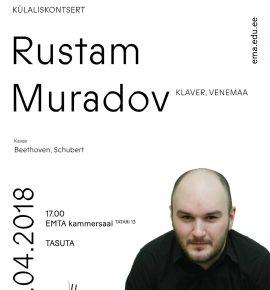 Külaliskontsert. Rustam Muradov