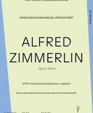 Improvisatsioonikursuse lõppkontsert. Alfred Zimmerlin