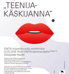 EMTA ooperistuudio ESIETENDUS: G. B. Pergolesi