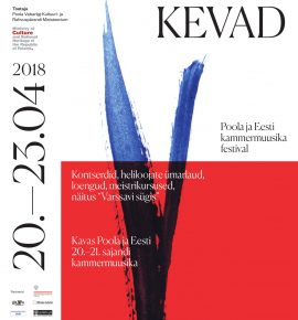 "Varssavi kevad. Kontsert ""Classics of Contemporary Music"""