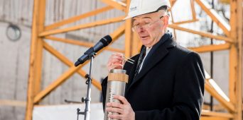 Cornerstone laid for Estonian Academy of Music and Theatre concert hall complex