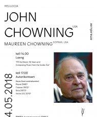 Autorikontsert. John Chowning